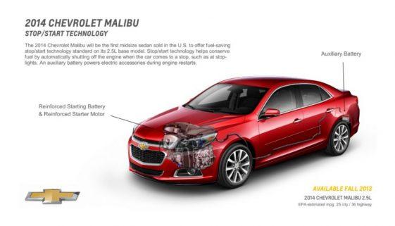 2014 Chevrolet Malibu. © Copyright General Motors