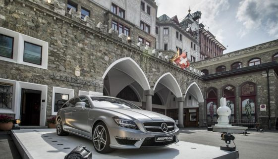6th St. Moritz Art Masters: Mercedes-Benz and Mercedes-AMG present modern art from the Middle Kingdom. © Copyright Daimler