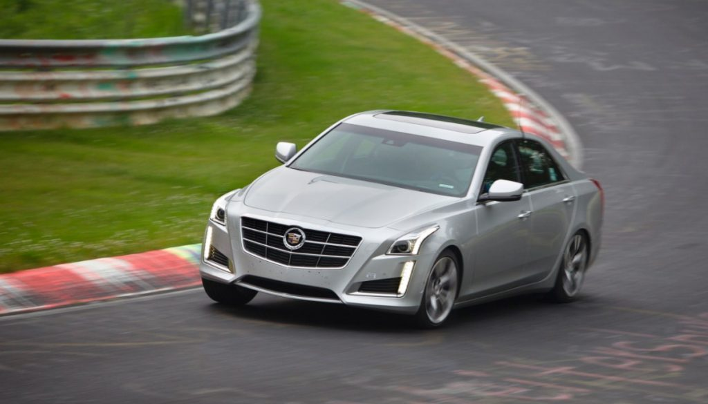 2014 Cadillac CTS. © Copyright General Motors