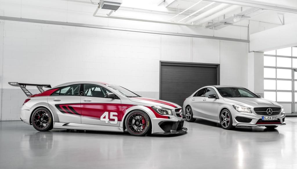 CLA 250 Sport & CLA 45 AMG Racing Series. © Copyright Daimler