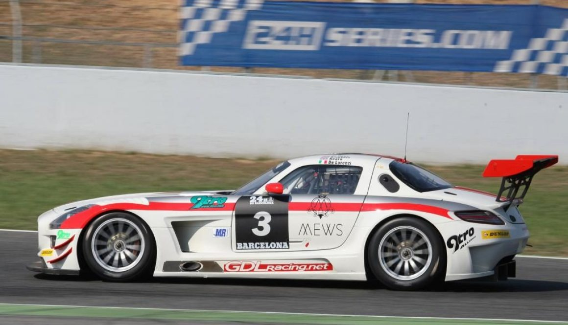 SLS AMG GT3 Customer Motorsports 2013: overall victory at the Barcelona 24 Hours for the Swiss AMG customer team, Hofor Racing