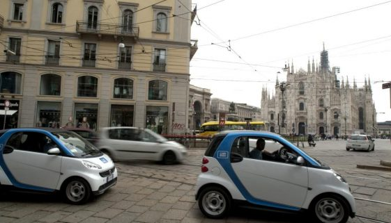 car2go: on-demand smart car sharing comes to Milan. © Copyright Daimler