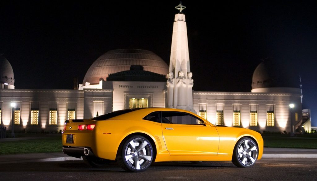 Bumblebee - Since the first Michael Bay's Transformers film in 2007, the fifth-generation Camaro has converted into the iconic character Bumblebee. © General Motors