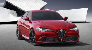 World preview of the Alfa Romeo Giulia © Fiat Chrysler Automobiles N.V.
