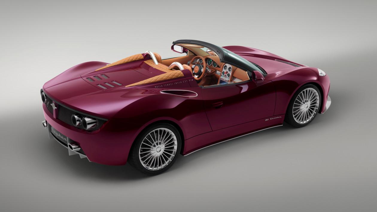 Spyker B6 Spyder Concept © Spyker N.V.