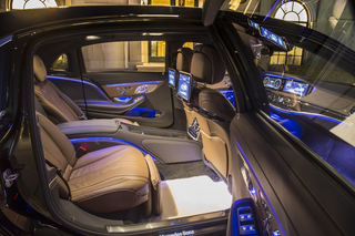 2016 Mercedes-Maybach S600 Interior © Mercedes-Benz