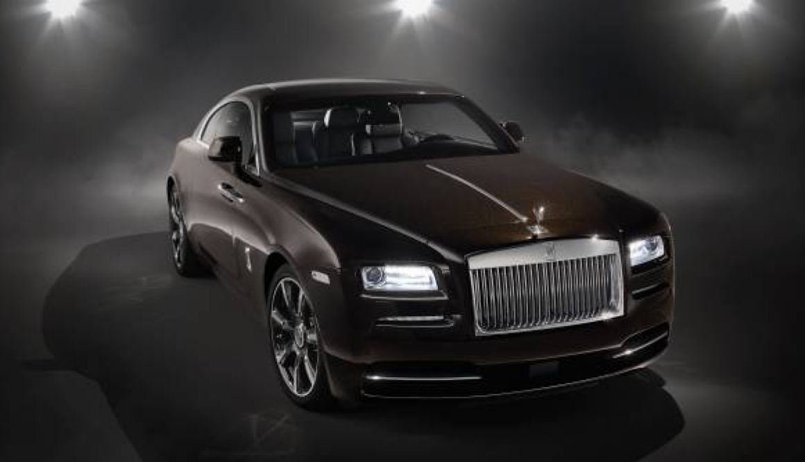 Rolls-Royce Wraith 'Inspired by Music' front © Rolls-Royce