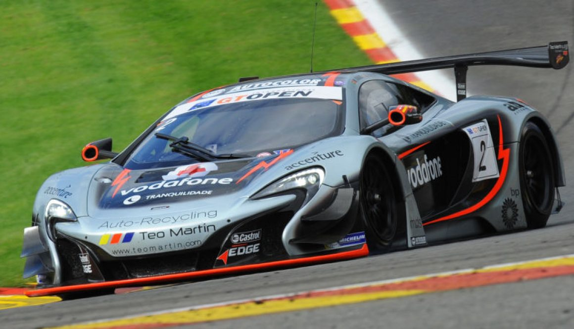 McLaren Factory Driver Alvaro Parente Takes Spa Victory to Extend Championship Lead © Copyright McLaren Automotive Limited