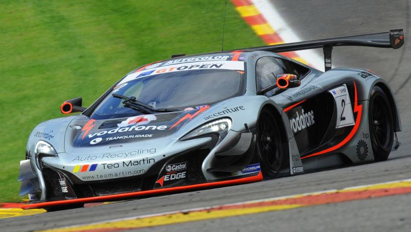 McLaren Factory Driver Alvaro Parente Takes Spa Victory to Extend Championship Lead © Copyright McLaren Automotive Limited