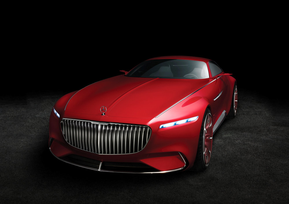 Vision Mercedes-Maybach 6. © 2016 Mercedes-Benz