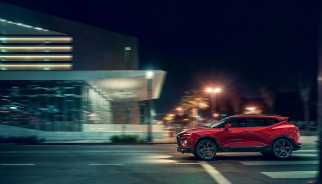 2019 Chevrolet Blazer RS: An attention-grabbing midsize SUV offering style and versatility. Copyright Chevrolet