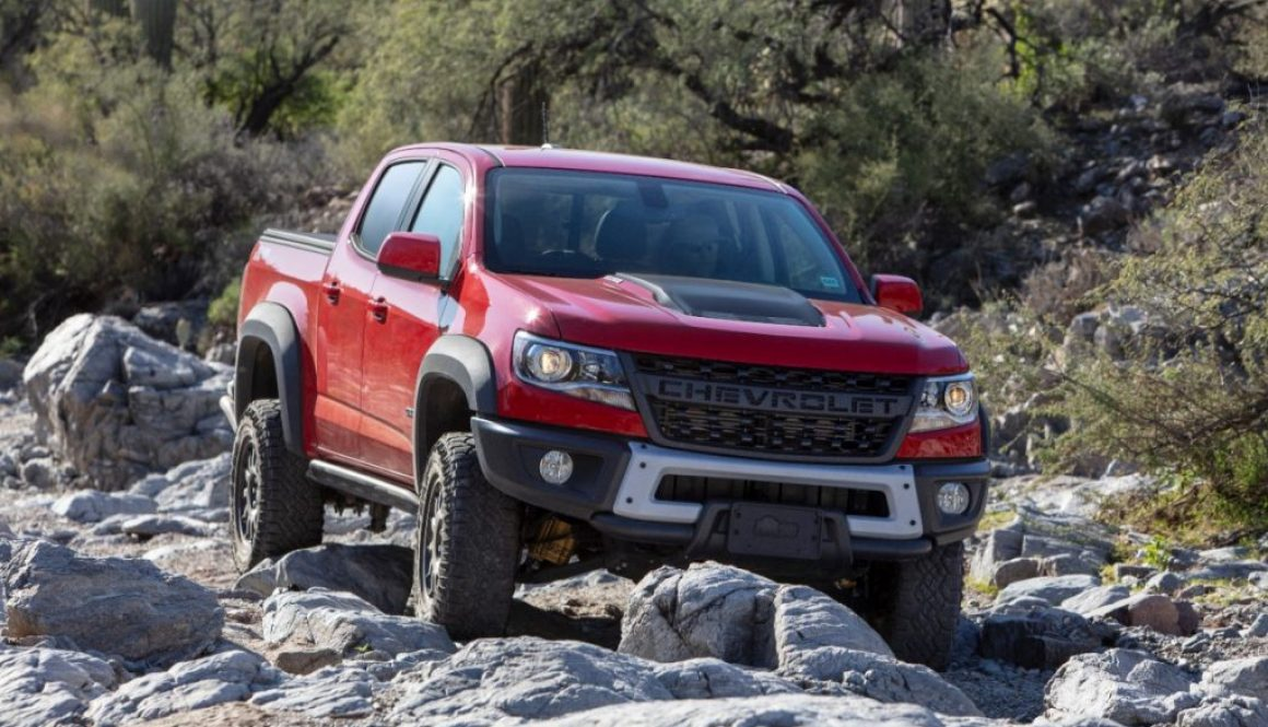 2019 Chevrolet Colorado ZR2 Bison. Copyright Chevrolet