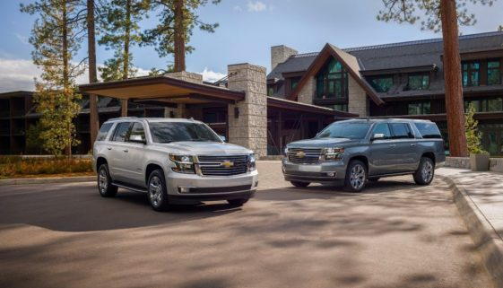 2019 Chevrolet Tahoe and Suburban Premier Plus Special Editions. Copyright Chevrolet