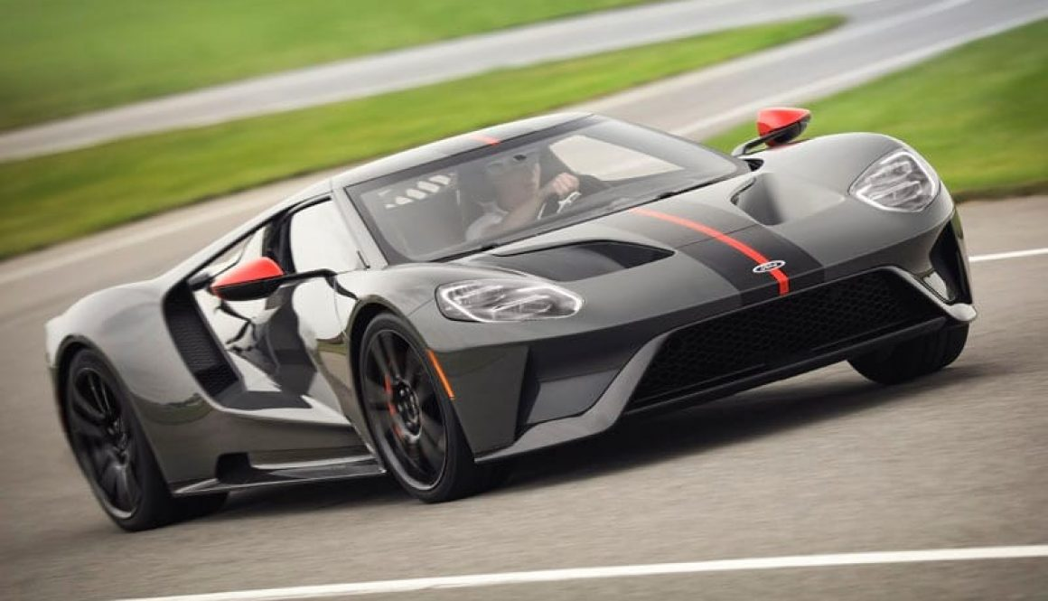 2019 Ford GT Carbon. Copyright Ford