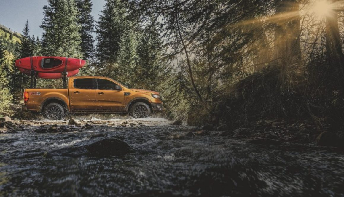 2019 Ford Ranger Yakima Outdoor Adventure Accessories Copyright Ford