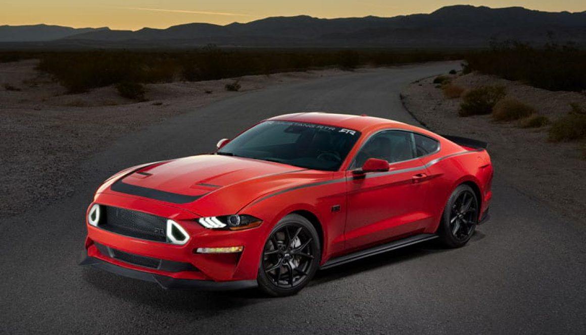 Series 1 Mustang RTR Powered by Ford Performance. Copyright Ford